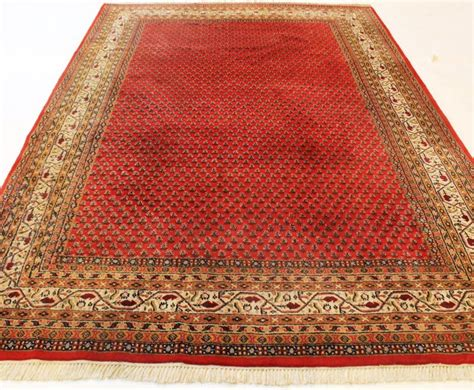 rugs made in india beautiful knotted orient rug sarough mir 190 x 290 cm made in india end of the 20th