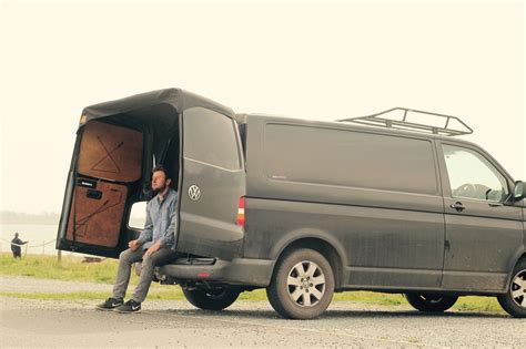 vw transporter awning volkswagen transporter barn door awning camping van pinterest rv t4 california