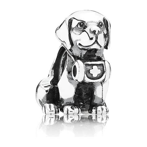 pandora puppy charm pandora bernard charm 791515 pandora from gift and wrap uk