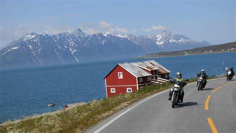 Nordkap Motorrad by Motorradtour Nordkap Lofoten 18 Tage Gef 252 Hrt