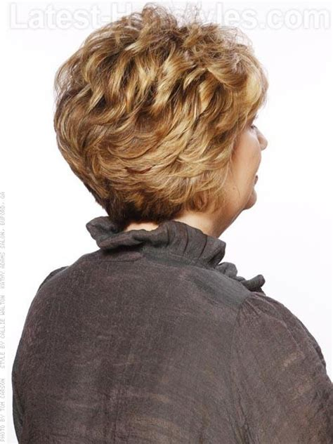 feathered short curly hairstyles your move wavy blonde short sculpted cut with volume