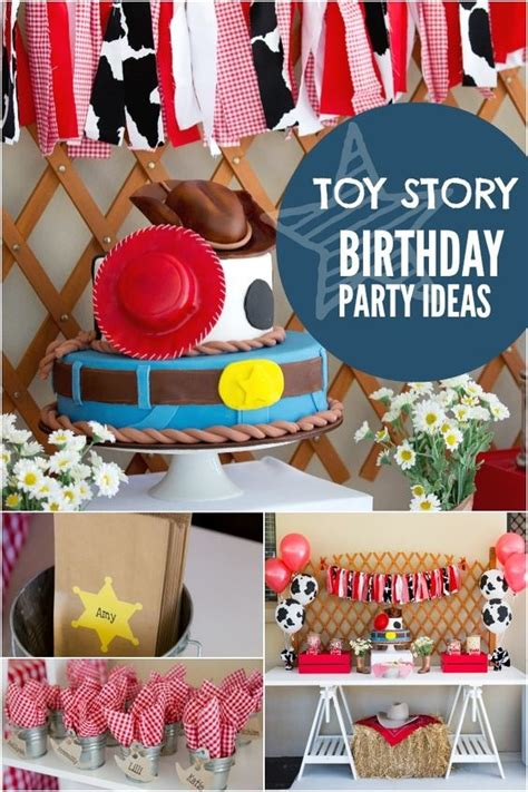 themes for joint birthday parties a toy story inspired joint birthday party boy toys