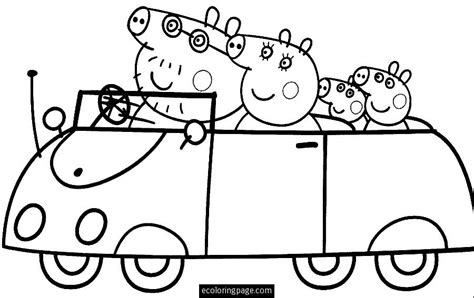 peppa pig cartoon coloring pages peppa pig 11 cartoons printable coloring pages