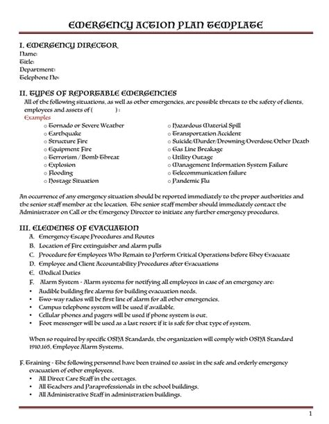 Safety Plan Template Download Free Documents For Pdf Word And Excel Crisis Plan Template