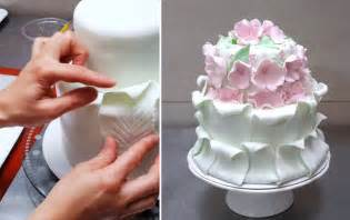 kuchen dekorieren mit fondant simple fondant cake decorating tutorial decorar con