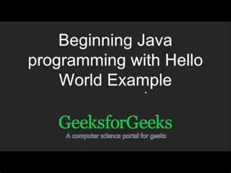java pattern begin with java programming tutorial beginning java programming
