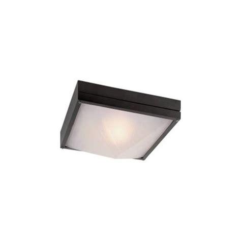 black flush mount light filament design lawrence collection 2 light outdoor black