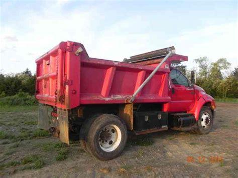 Dump Truck With Sleeper by Ford F650 2004 Sleeper Semi Trucks