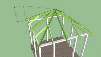 How To Design A Roof Square Gazebo Plans Free Diy Free Plans Coop Shed