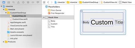 top layout guide xib autolayout how to self sizing custom view from xib with