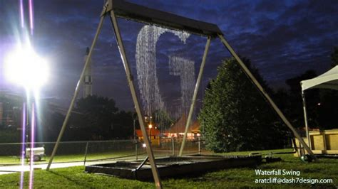 waterfall swing set photos videos waterfall swing