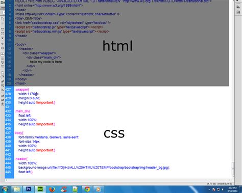 set background image css html when set background image in div at time i to