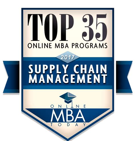 Mba In Global Supply Chain Management by Top 35 Mba Programs In Supply Chain Management