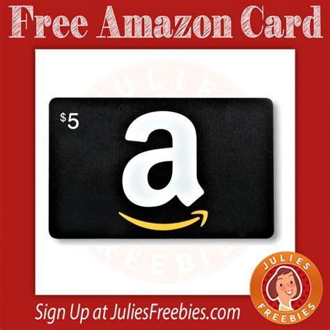 Free Amazon 5 Gift Card - free 5 amazon gift card julie s freebies