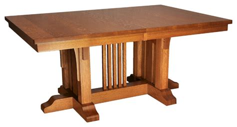 mission luxury table craftsman dining tables
