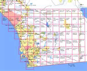 map of san diego county california san diego elevation map