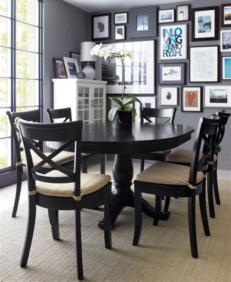 dining room table black 25 best ideas about black dining tables on pinterest