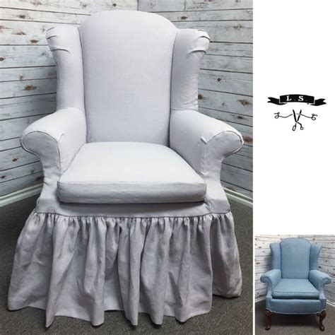 slipcovers for wing back chairs best 25 wingback chair covers ideas on pinterest