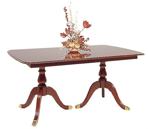 cherry pedestal dining table made in the usa