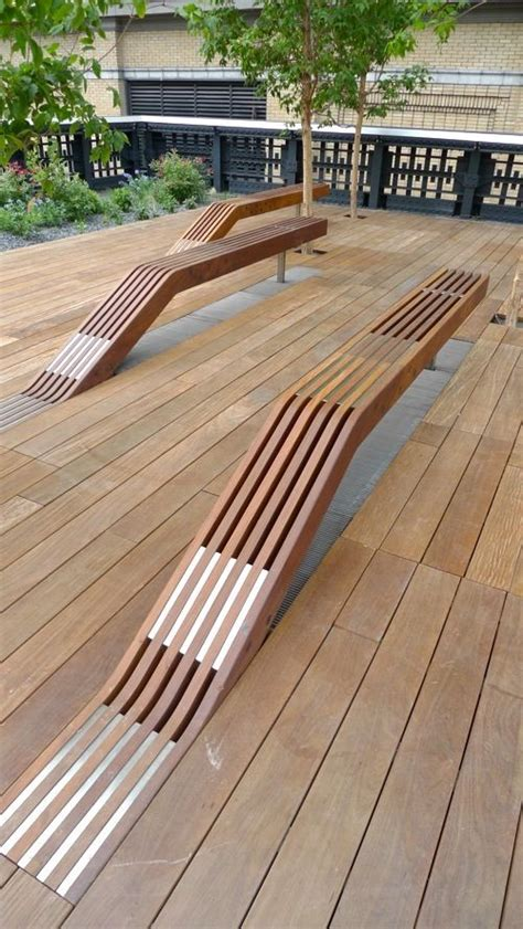wood deck bench wood benches on decks woodworking projects plans