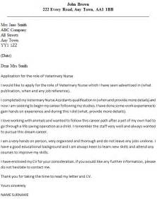 Cover Letter Veterinary Assistant veterinary cover letter exle icover org uk