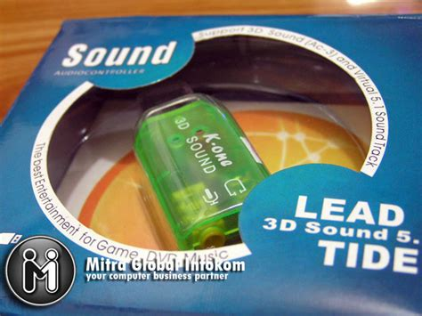 Usb Sound Card Murah mitra global infokom usb soundcard 3d