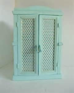 armoire de poup 233 e ancienne turquoise jeux jouets par celisa