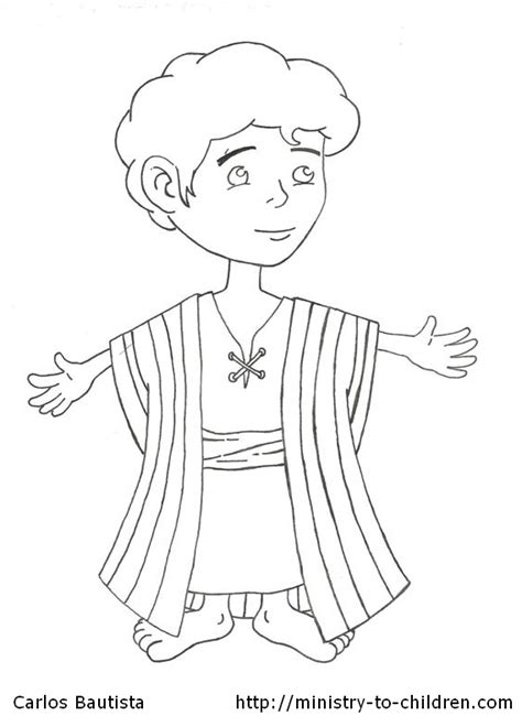 printable coloring pages joseph coat joseph and the beautiful coat coloring page