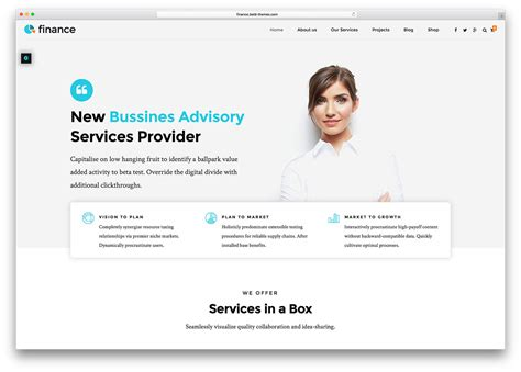 Online Layout Planner 20 best financial company wordpress themes 2018 colorlib