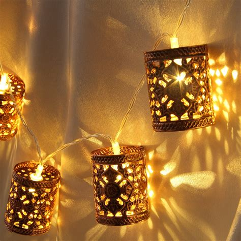 20 led lantern string lights indoor outdoor 2 2m festival