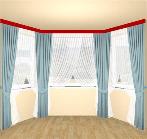 vorhänge im erker gardinen f 252 r erker moderne gardinen f r kleine fenster im