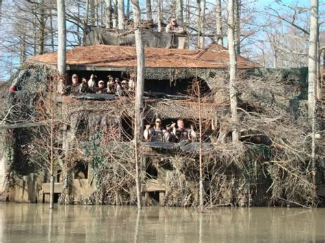 How To Build A Two Story Shed by These 8 Homemade Hunting Blinds Are Serious Accomplishments