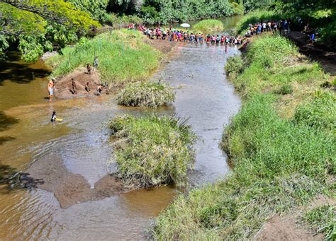 officials say water will be returned to waimea river