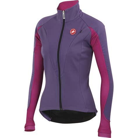 women s bicycle jackets wiggle castelli women s illumina jacket cycling