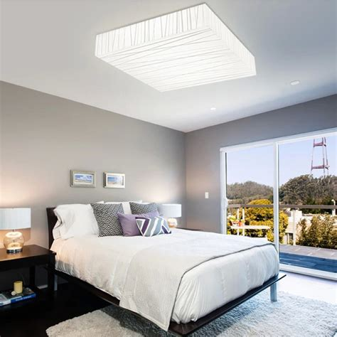 modern ceiling lights for bedroom k 246 p 12w modern square led takla living dining room