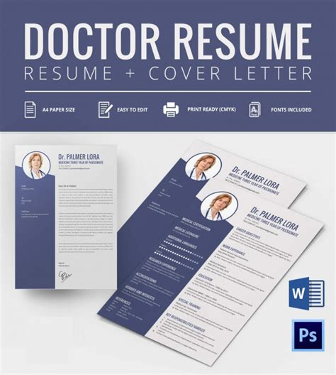 Best Cv Template For Doctors by Creative Resume Template 79 Free Sles Exles