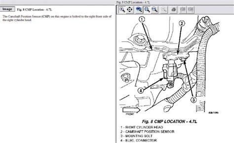 P1492 Jeep Location Of Shaft Sensor 2002 Dodge Dakota 4 7 Ltr