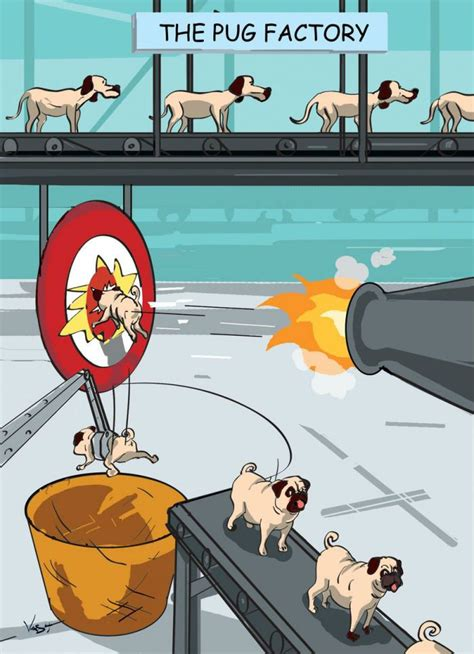 pug comic the pug factory how pugs are made weknowmemes