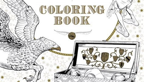 harry potter coloring books barnes and noble 5 literary coloring books for everyone on your list