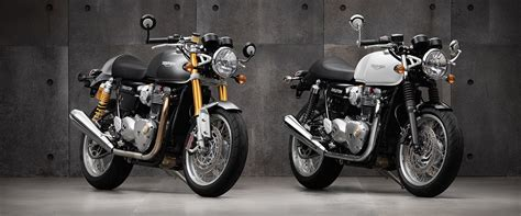 Triumph Motorrad Classic by Triumph Thruxton Motorcycle Evolution Of A Classic Caf 233 Racer