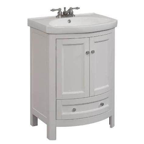 19 inch bathroom vanity runfine 24 in w x 19 in d x 34 in h vanity in white