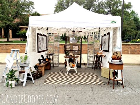 how to decorate a market tent how to set up an fair tent candie cooper