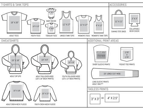 size t shirt template ai maxprintareas sheet large gulfside custom t shirts