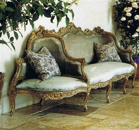 confidante sofa louis xv canape a confidante in the entrance hall home of