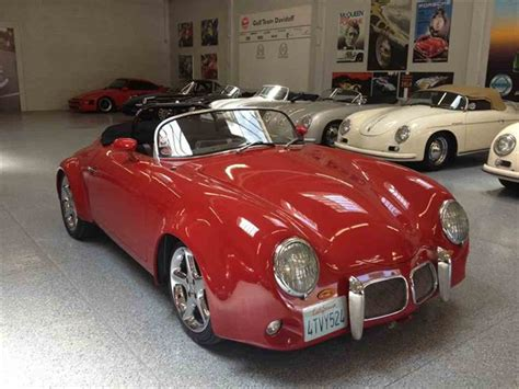 porsche california speedster 1957 porsche outlaw speedster for sale classiccars com