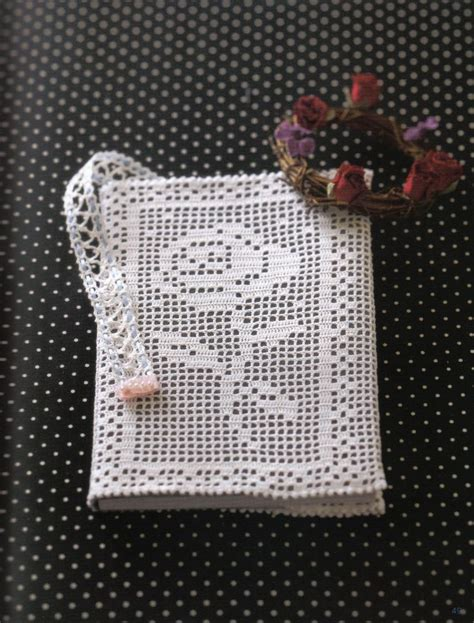Knit Cover Chain Cross Bag best 25 crochet book cover ideas on crochet