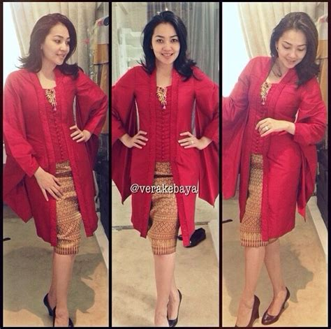 Dress Kharisma Biru modern style songket with kartian by vera idea