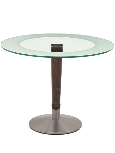 Glass Top Circular Dining Table Harvey Glass Top Circular Dining Table Knightsbridge Furniture