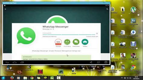 tutorial para instalar whatsapp pc como descargar whatsapp para pc gratis 1link mediafire