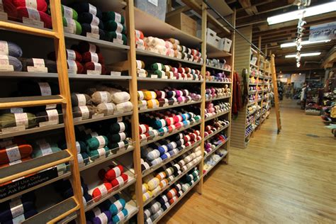 knitting shop small family owned yarn shop battles large corporations